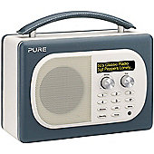 PURE EVOKE MIO DAB/FM RADIO (PEPPER PASTEL BLUE)