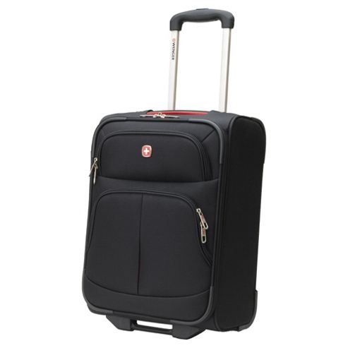 Wenger 2-Wheel Suitcase, Black Small