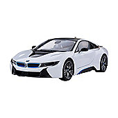 Homcom BMW I8 1/14 Scale Radio Remote Control Model Car RC Kids Toy Gift