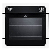 New World Ltd NW601FWH 600mm Built In Single Electric Oven White