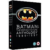 Batman Motion Pictures 1989-97 (DVD Boxset)