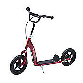Homcom Adult Teen Push Scooter- Red