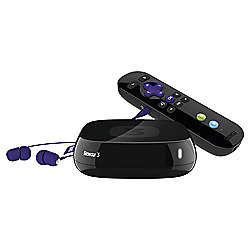 Roku 3 HD Digital Media Streamer with Headphone Remote & Motion Control