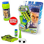 Messi Footbubbles Foot Bubbles Starter Pack (Green Socks) Extra Refill Included