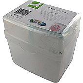 Q-Connect CD Jewel Case Storage Box Capacity 60 KF00140