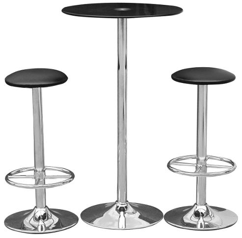 Premier Housewares 3 Piece Bar Table Set