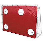 Activequipment 7ft x 5ft, 3-in-1 Football Goal Post