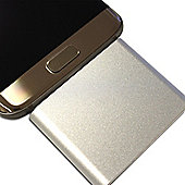 Mini Power Bank for Android Devices 1000mAh Silver