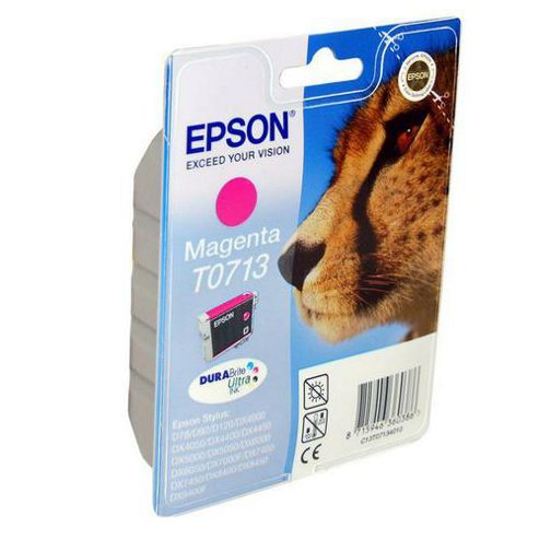 Epson 5.5 ml Original Ink Cartridge for Epson Stylus SX510W Printer - Magenta