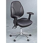 WoodstockLeaBank Lynx Mid-Back Task Chair