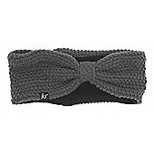 Audio Knitted Bow Headband