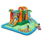 The Oasis 7 in 1 14ft Bouncy Castle Waterpark