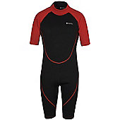 Mens Shorty Neoprene Surf Summer Wet Suit Wetsuit - Black