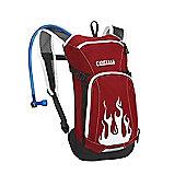 2014 Camelbak 1.5L Mini Mule Hydration Pack Chilli Pepper Red Flames