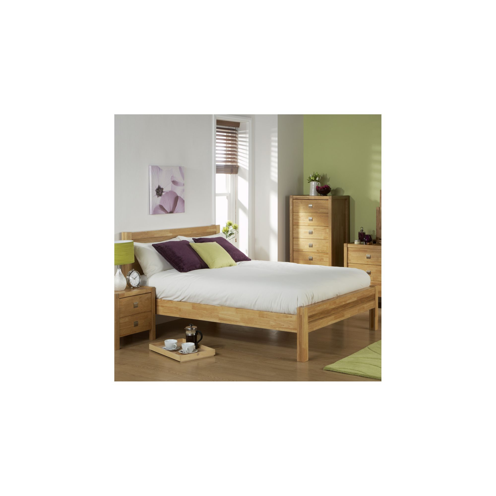 Elements Valencia Bed - King at Tesco Direct