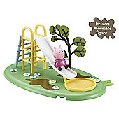 Peppa Pig Playtime Fun Playset - Slide