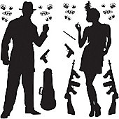 1920s Party Gangster Scene Add-Ons (24pk)