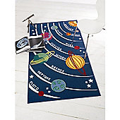 Matrix Kiddy Planets Multi 100x190 Nylon Mat