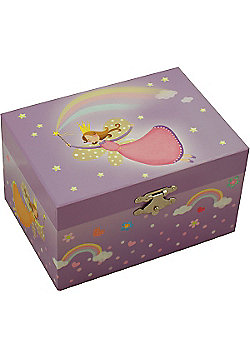 Girls Jewellery Boxes - Rainbow Fairy