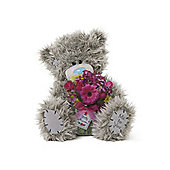 Me to You Tatty Teddy Bear Lovely Mum holding flowers