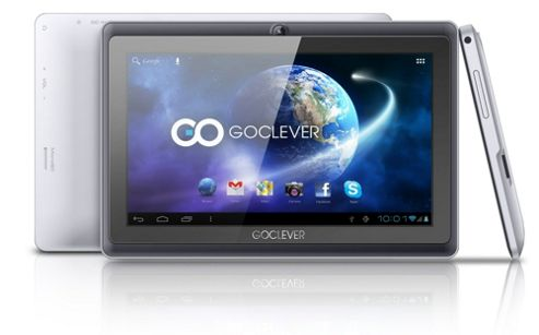 GoClever I720 - Terra 7oLKB - 7 Inch Dual Core, LCD, 512MB/4GB Jellybean Tablet (with Keyboard Case Bundle)