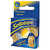 Sellotape Original Golden Tape, 18X25mm