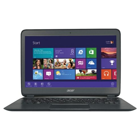 Acer S5-391 15.6-inch laptop, Intel Core i5, 4GB RAM, 128GB HDD, Windows 8
