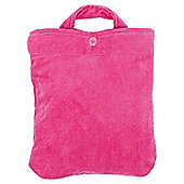 Kids Pink/Red Reversible Beach Bag