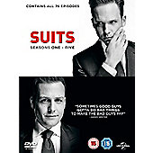 Suits Season 1-5 DVD
