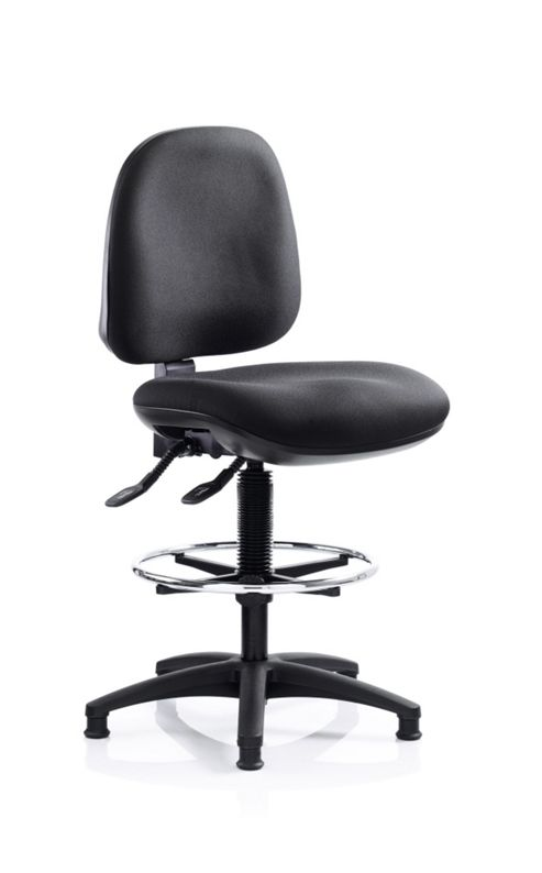 Ocee Design React Draughtsman Mid Back Chair
