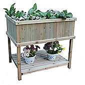 Bentley Garden Wooden Raised Flower & Vegetable Planter