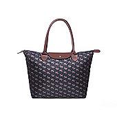 Black Scottie Dog Fold Up Lightweight Shopping Bag