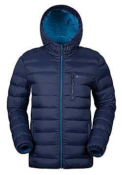 Mountain Warehouse Link Mens Padded Jacket - Blue