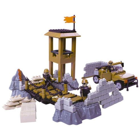 Toyrific Bricks Army Out Post (260pc)