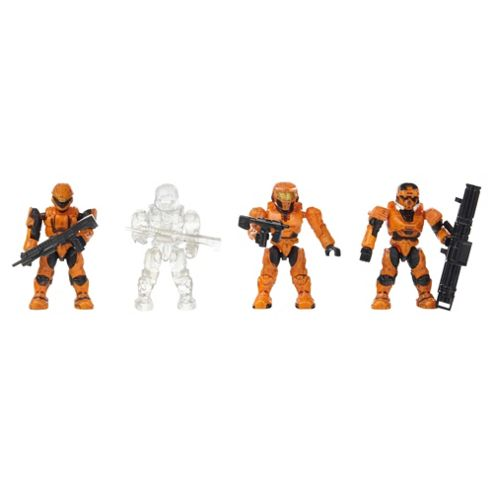 Mega Bloks Halo Combat Unit - Orange Unit