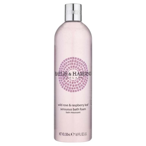B&H Wild Rose & R/Berry Leaf Bath Foam500Ml