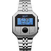 Original Penguin Cagny Mens Digital Stainless Steel Watch - OP3034SL