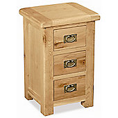 Alterton Furniture Pemberley 3 Drawer Bedside Table