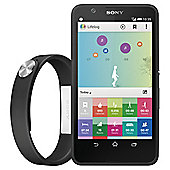 Sony Xperia™ E4 Black & SmartBand Bundle