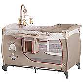 Hauck Babycenter Travel Cot, Giraffe