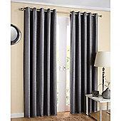 Enhanced Living Santiago Eyelet Grey Curtains 162X183cm