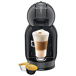 NESCAFE Dolce Gusto, Mini Me, Automatic Coffee Machine by Krups Black & Grey