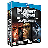 Planet Of The Apes - Evolution Collection Blu-ray