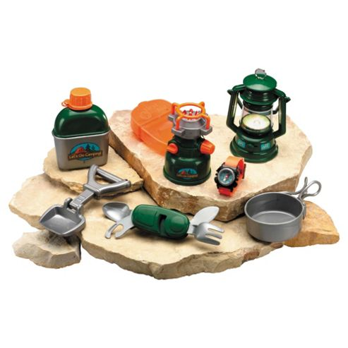 Toy Camping Set - Lets Go Camping