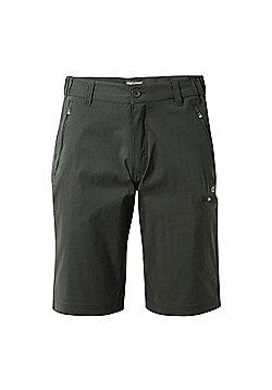 Craghoppers Mens Kiwi Prostretch Long Walking Shorts - Grey