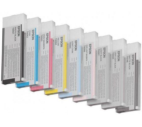 Epson T6067 Light Black Ink Cartridge for Stylus Pro 4800/4880 (220ML)