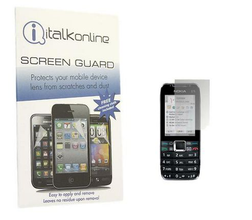 iTALKonline S-Protect LCD Screen Protector and Micro Fibre Cleaning Cloth