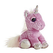 Aurora Dreamy Eyes Unicorn 30cm Pink Plush Soft Toy