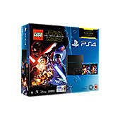 PS4 500GB Lego Star Wars + Force Awakens Blu-ray Console (C Chassis)