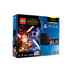 Lego Star Wars + Force Awakens Blu-ray PS4 500GB Console